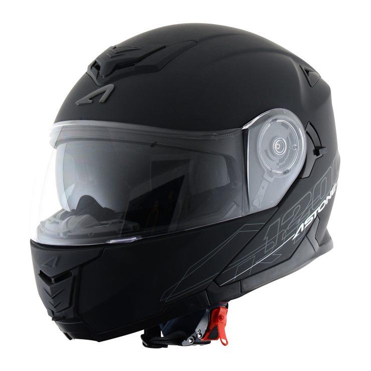 Capacete Astone RT1200 Matt Black-1