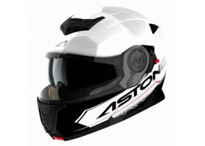 Capacete Astone RT1200 Touring White Black