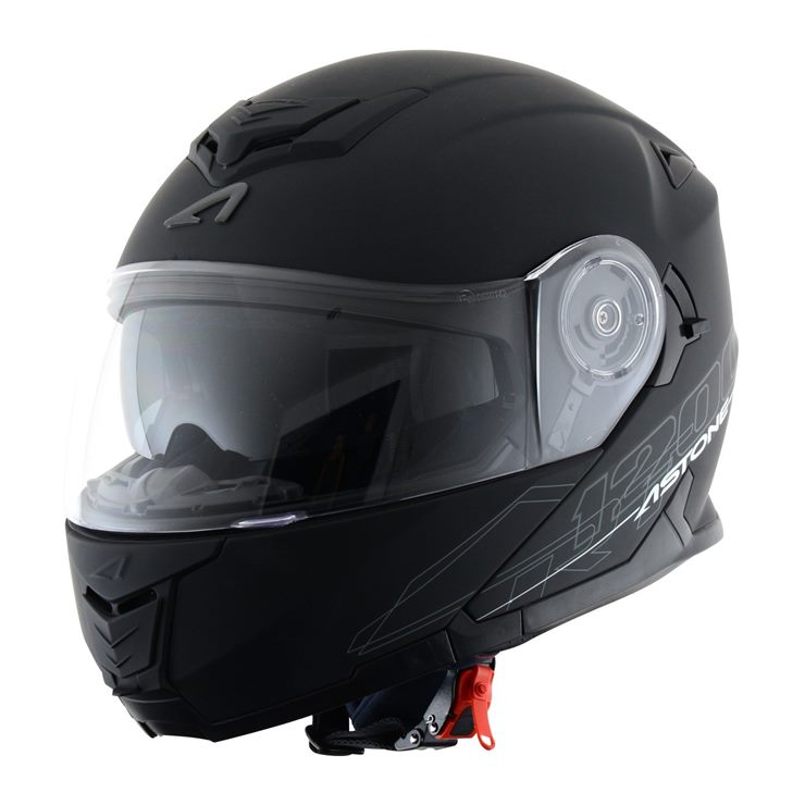 Capacete Astone RT1200 Matt Black-1
