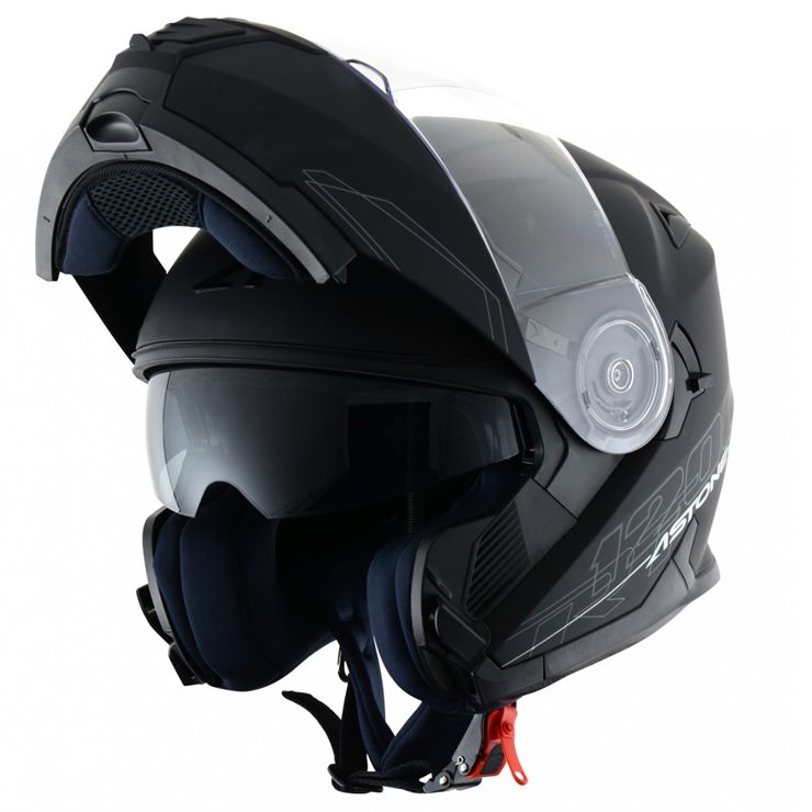 Capacete Astone RT1200 Matt Black-2